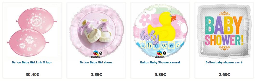 Ballons de naissance