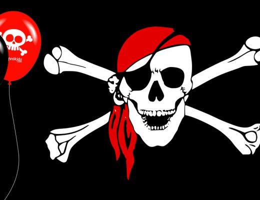 décoration des pirates